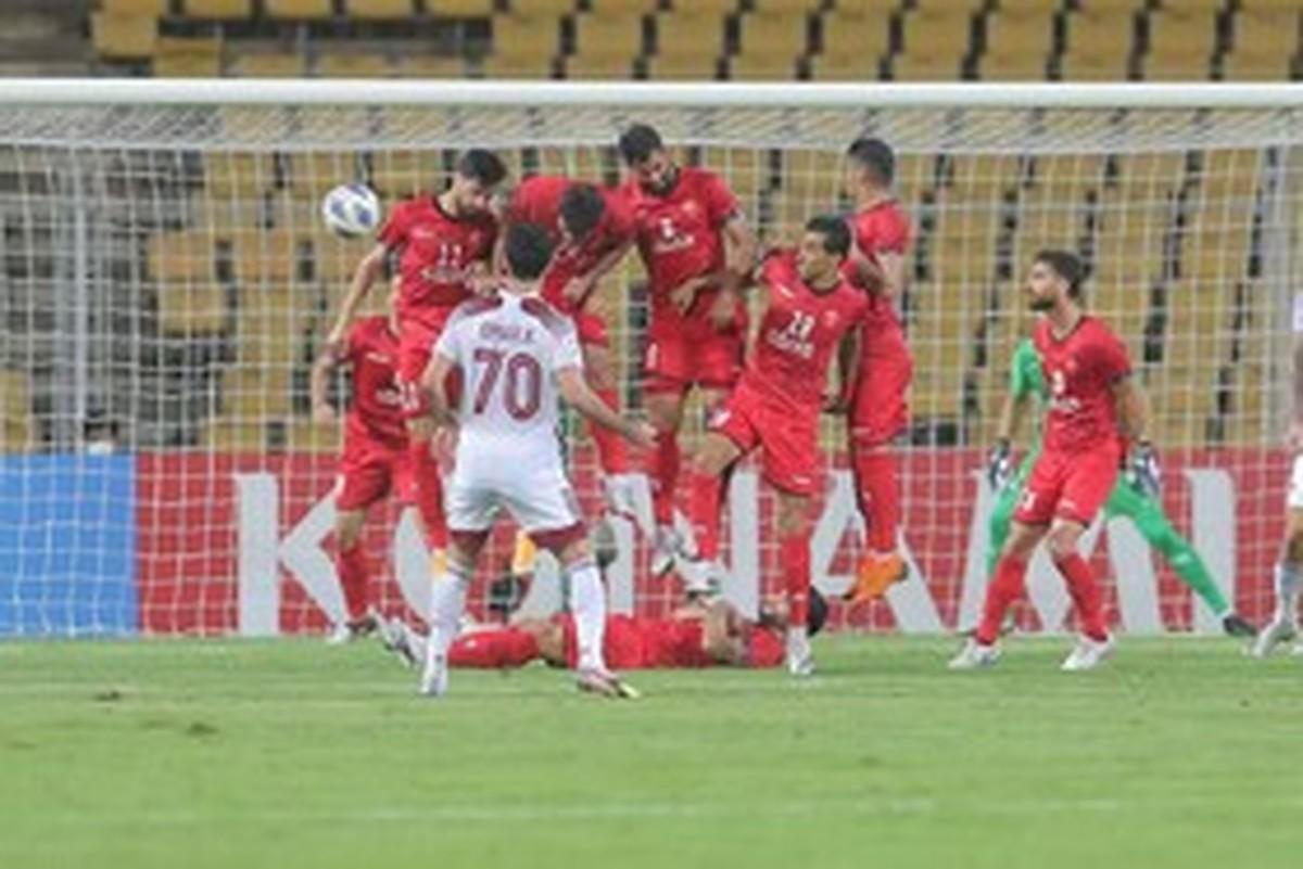 الوحده 1- 0 پرسپولیس |  طلسم پیروزی سرخها شکست