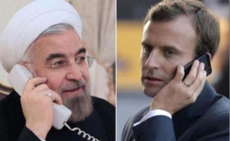 روحانی در پاسخ به پیشنهاد مکرون: توقف کلیه تحریم ها می تواند آغازی برای یک حرکت بین ایران و 1+5 باشد