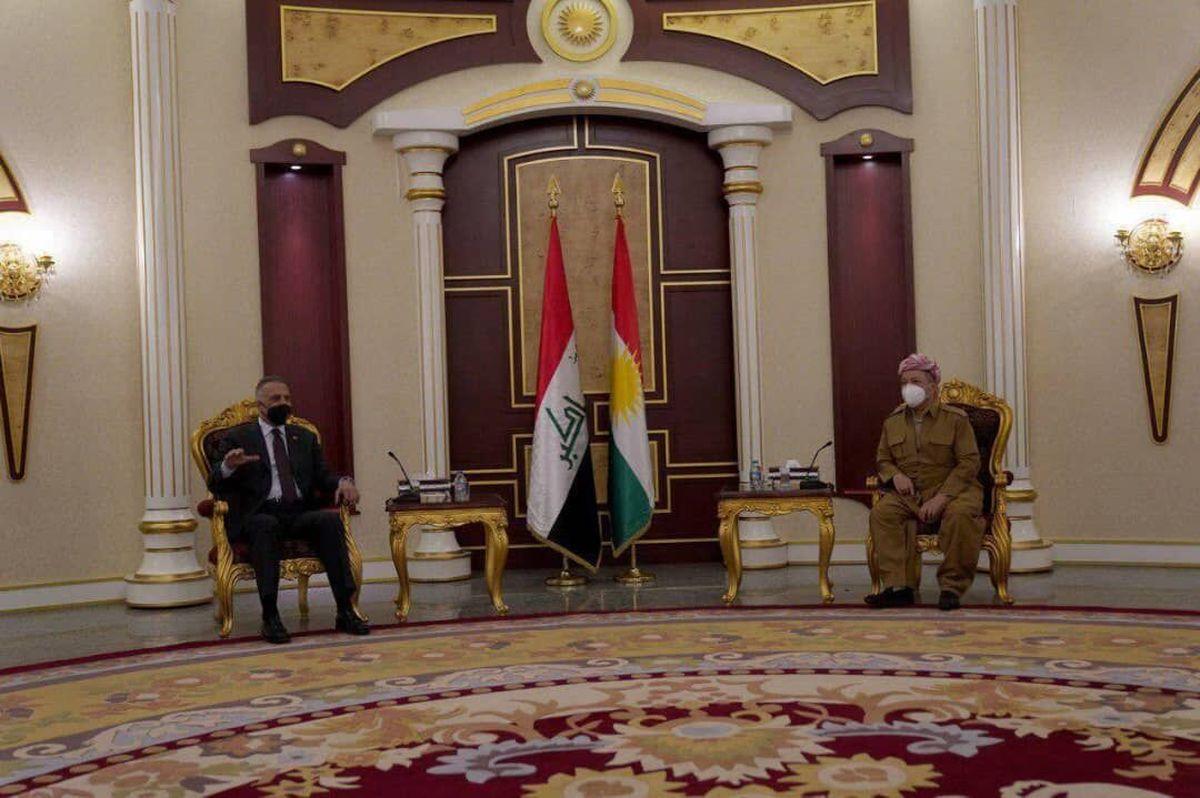 الکاظمی در دیدار بازرانی  |  اقلیم کردستان بخش اساسی از عراق است