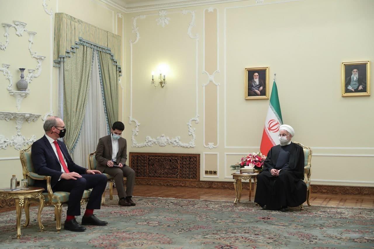 وزیر خارجه ایرلند       نتایج حاصل از دیدار با مقامات ایرانی سازنده بود