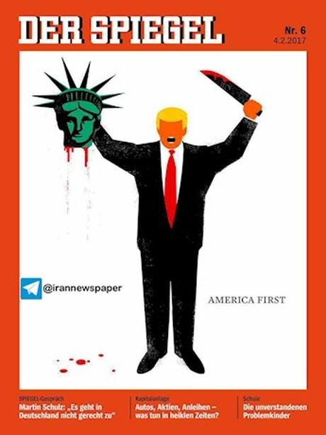 ذبح آزادی به دست دونالد ترامپ