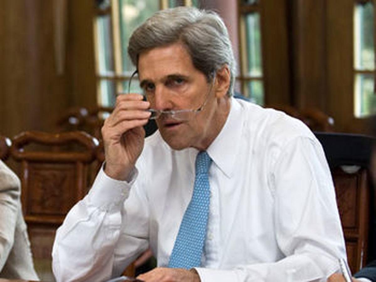 جان کری: ایران به نوعی در حمله آرامکو نقش داشته است