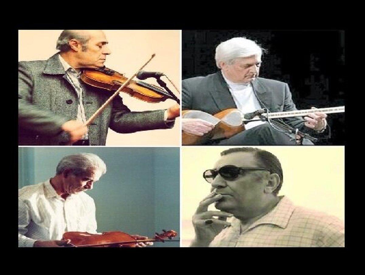 تهران به سردیس ۴ استاد موسیقی مزین میشود