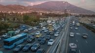 کاهش 29 درصدی ترافیک جاده ها در 24 ساعت گذشته