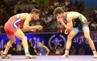 یزدانی با ضربه فنی المپیک را از دست داد