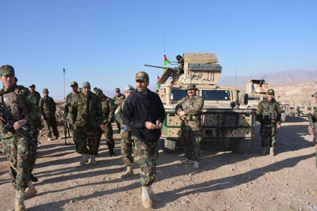 کشته شدن ۶۵ عضو گروه طالبان در افغانستان