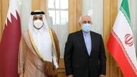 دیدار وزیران خارجه ایران و قطر