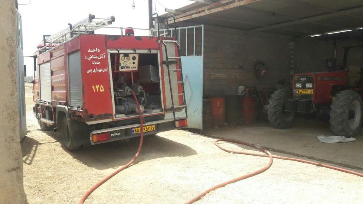 ۳ روز بی آبی در روستاهای باوی خوزستان