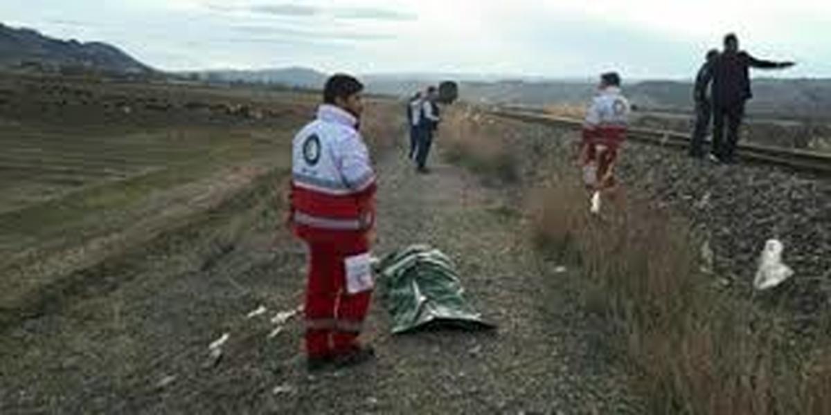 فوت جوان ۳۳ ساله بر اثر تصادف قطار با عابر در ورامین