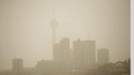 خیزش گردوغبار در استان تهران  والبرز  شروع شد