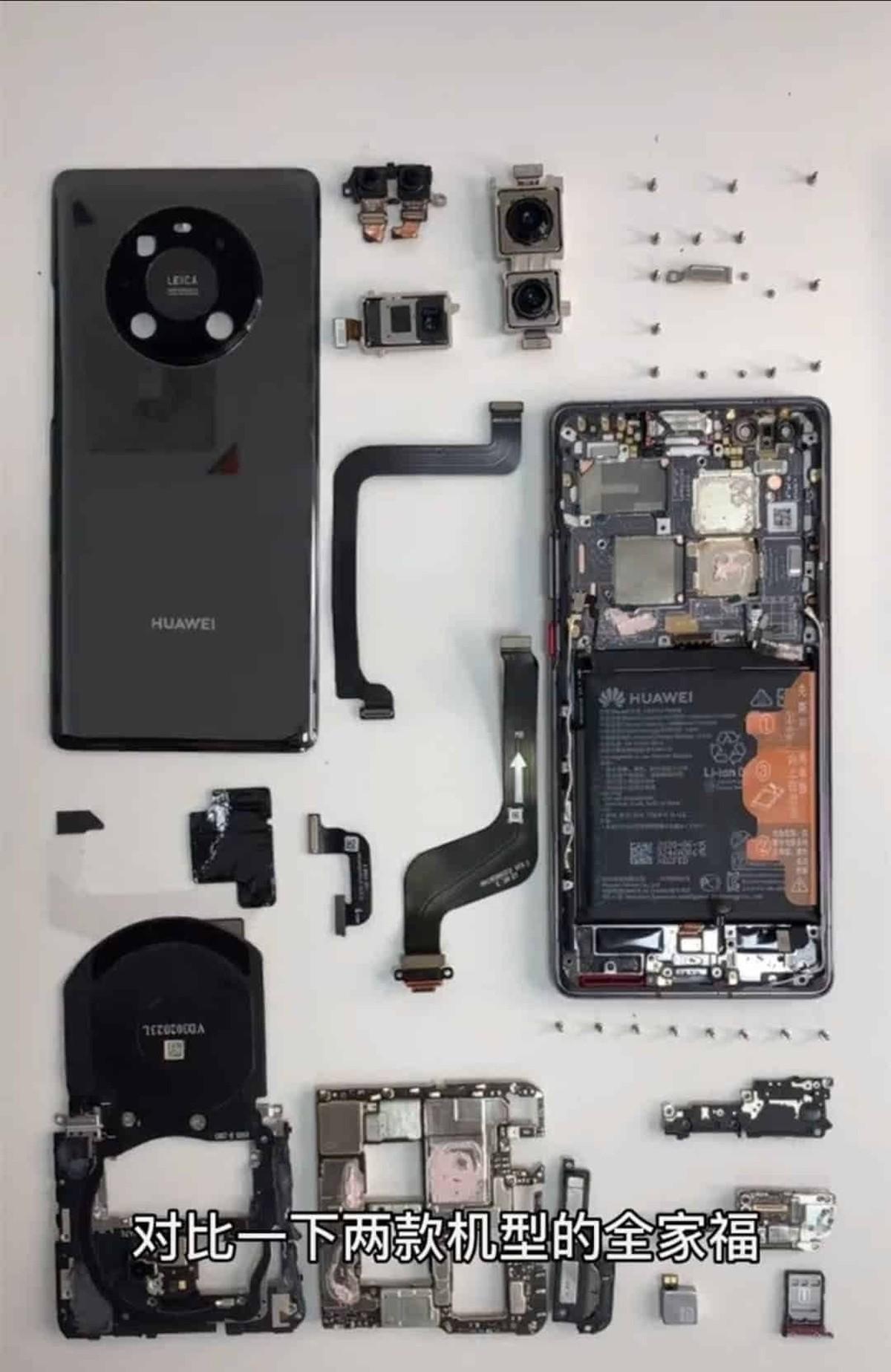 استفاده 40 Pro+ Huawei Mate از حافظه فوق سریع ساخت هوآوی