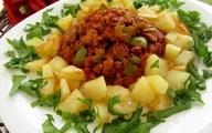 از ترکیب غذایی  سیب زمینی با گوشت پرهیز کنید