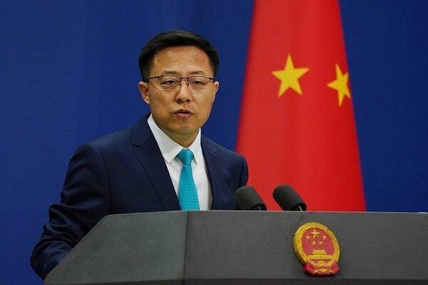آمریکا مداخله در امور داخلی چین را متوقف کند