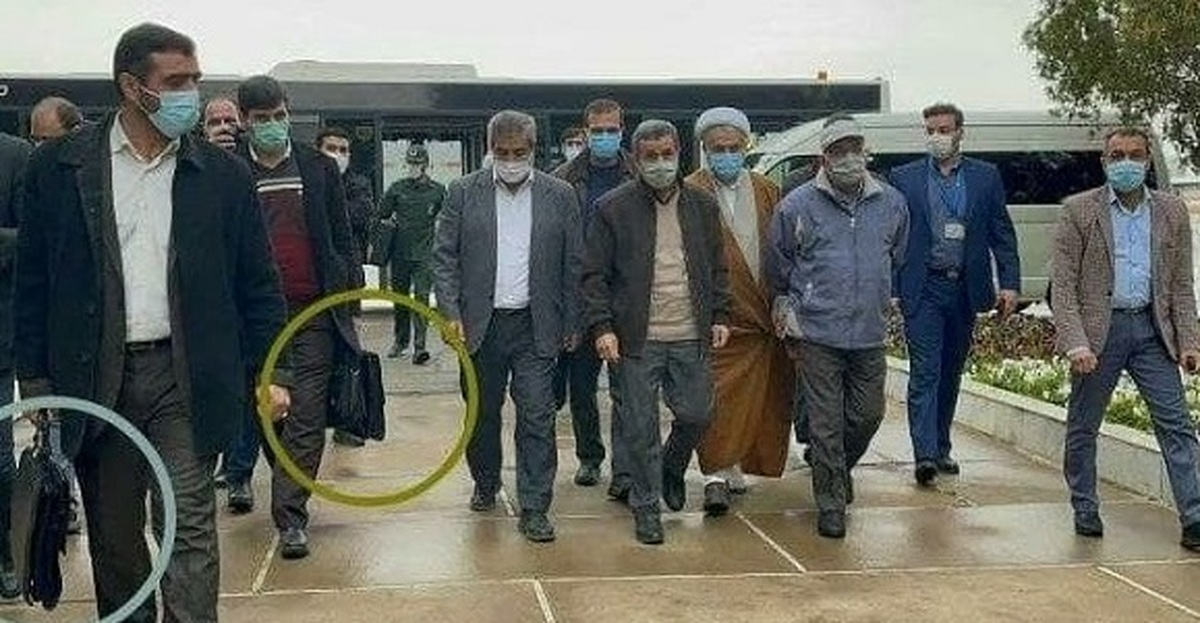 تصویر عجیب از سفر احمدی نژاد به سیسخت  تیم حفاظتی احمدی نژاد فعال است