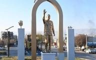 بازداشت متهم به آتش زدن مجسمه سردار سلیمانی در یاسوج