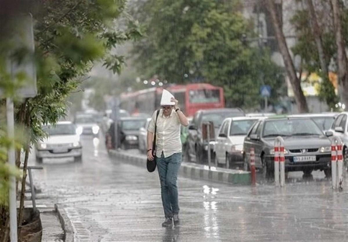 سازمان هواشناسی هشدار داد     وقوع رگبار و رعد و برق در ۱۳ استان