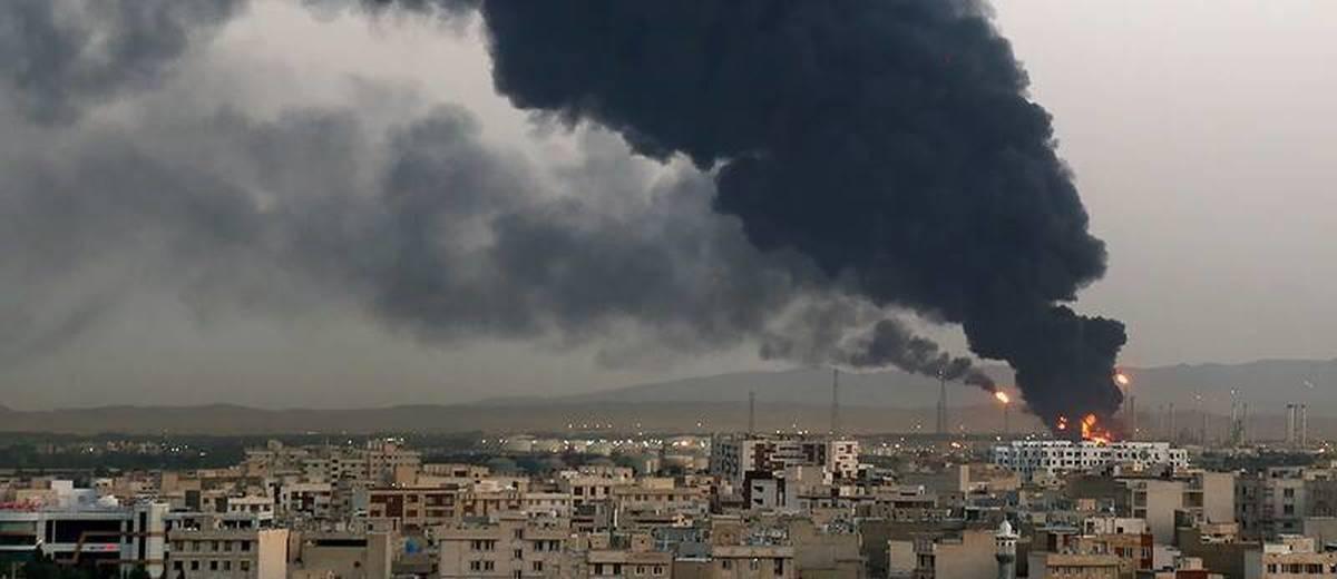آتش سوزی در  پالایشگاه نفت تهران پایان یافت