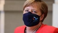 صدراعظم آلمان هم بالاخره ماسک زد +عکس
