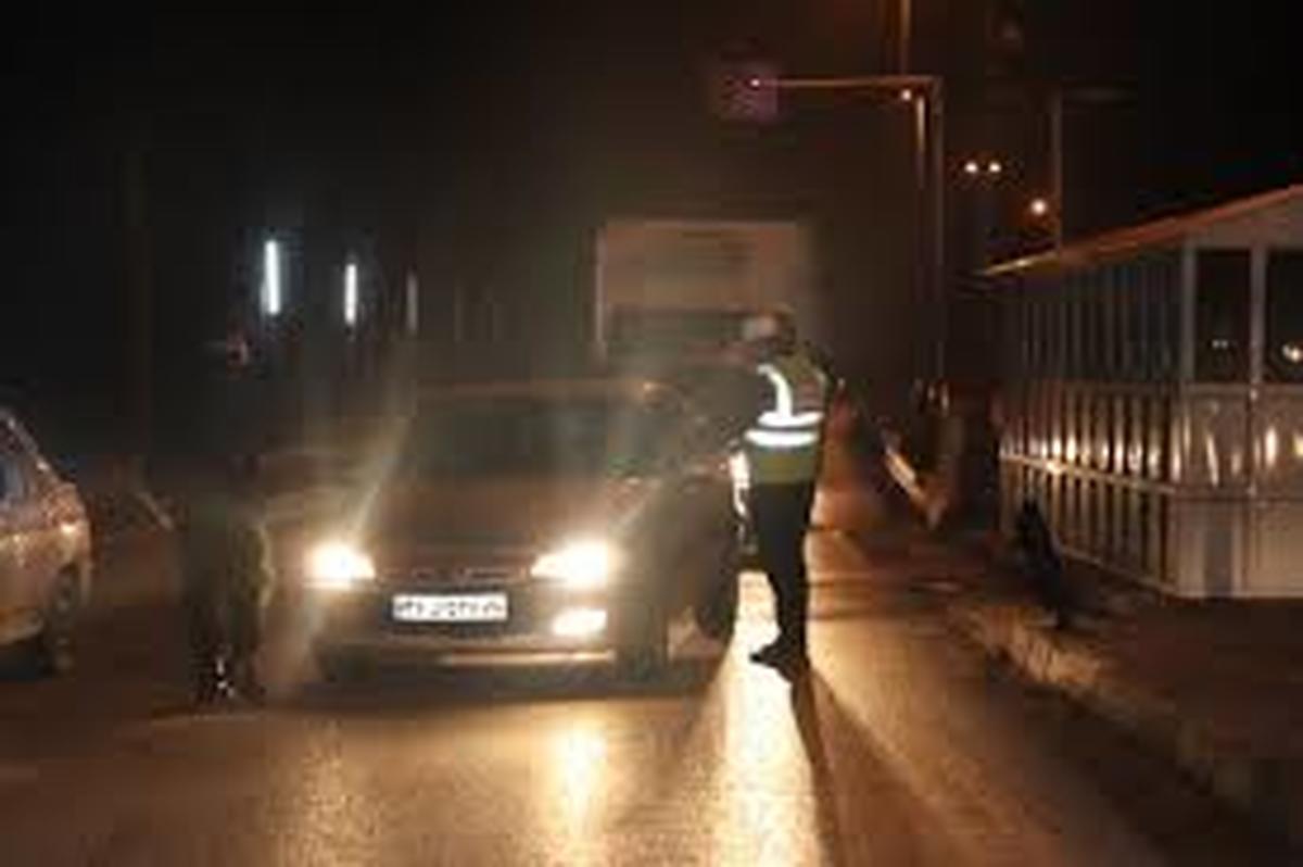 محدودیت شبانه  |  بیش از ۲۳ هزار خودرو جریمه شدند.