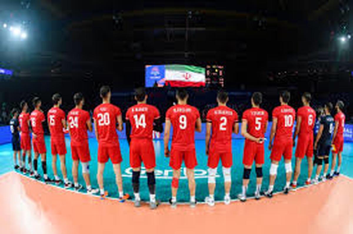 لیست ترکیب تیم ملی والیبال ایران برابر آرژانتین