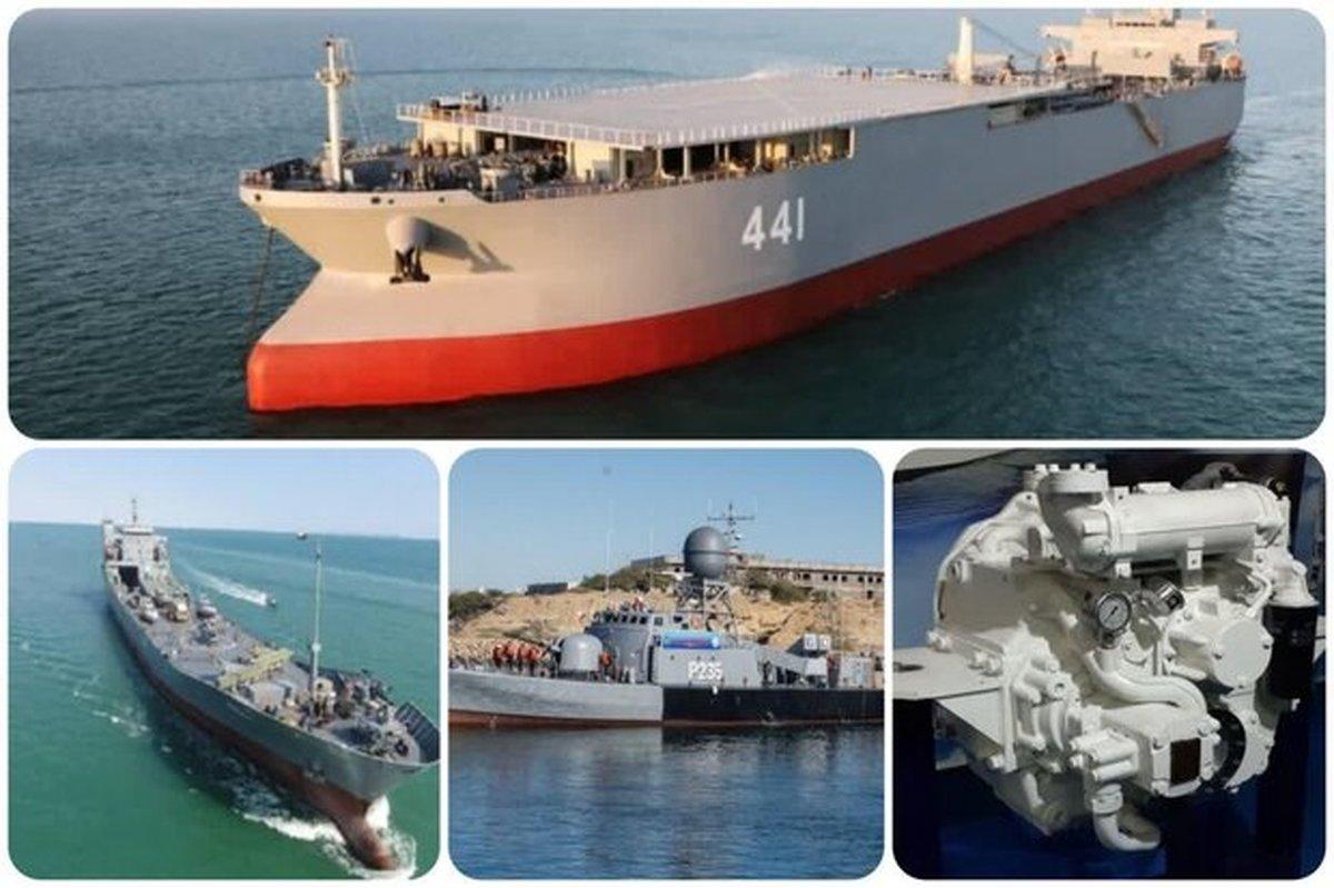آغاز به کار غولهای نظامی ایران در دریا|۴ دستاورد دریایی در سال۹۹