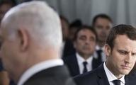 طرح الحاق کرانه باختری  | مکرون از نتانیاهوخواست که از اجرای طرح اشغال صرفنظر کند.