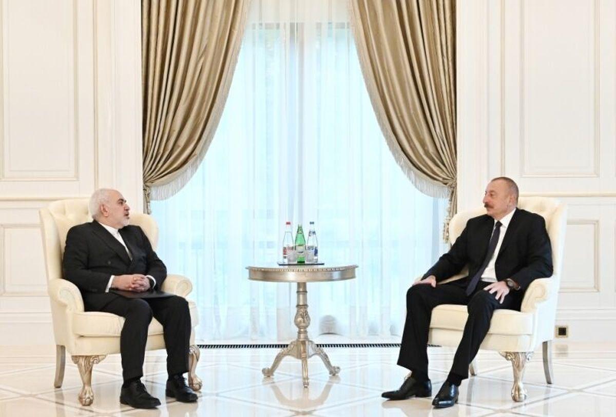 دیدار ظریف با رییس جمهور آذربایجان