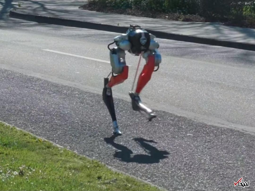 ربات عجیب و ترسناک  |  این ربات نابینا است