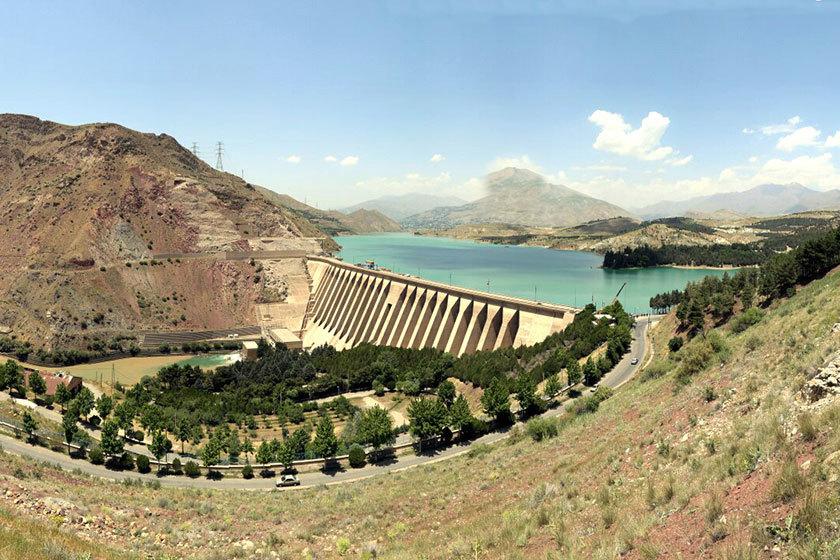 در سد لتیان کمتر از 50 درصد ظرفیت مخزن آب داریم
