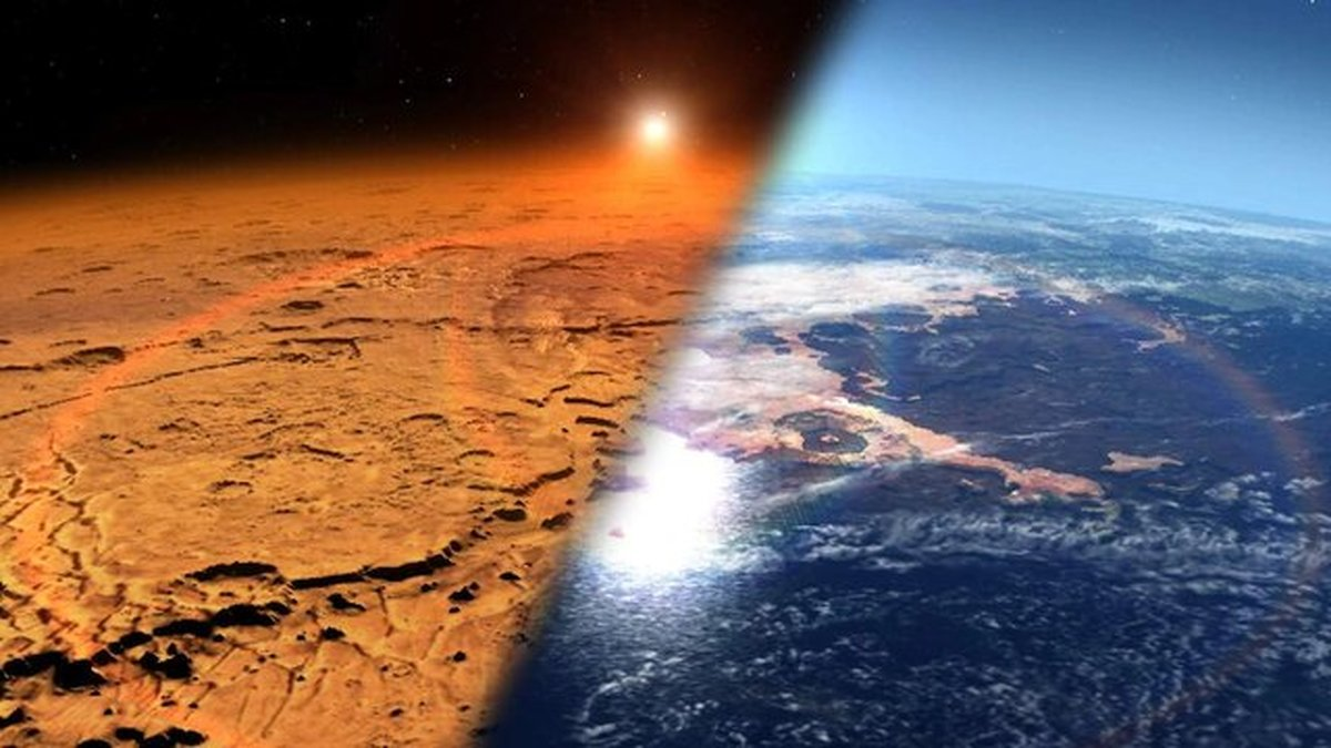 چرا سطح مریخ مانند گذشته با آب پوشیده نشده است؟