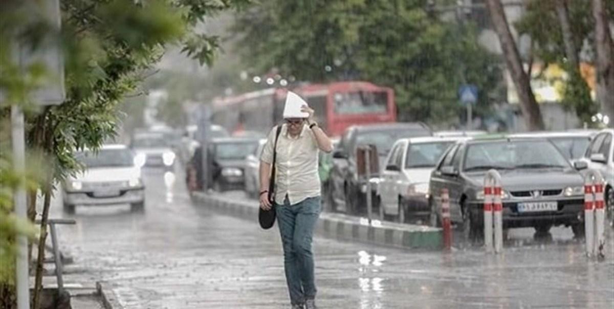 رگبار و رعدوبرق، وزش باد شدید موقت دراستان تهران ادامه دارد