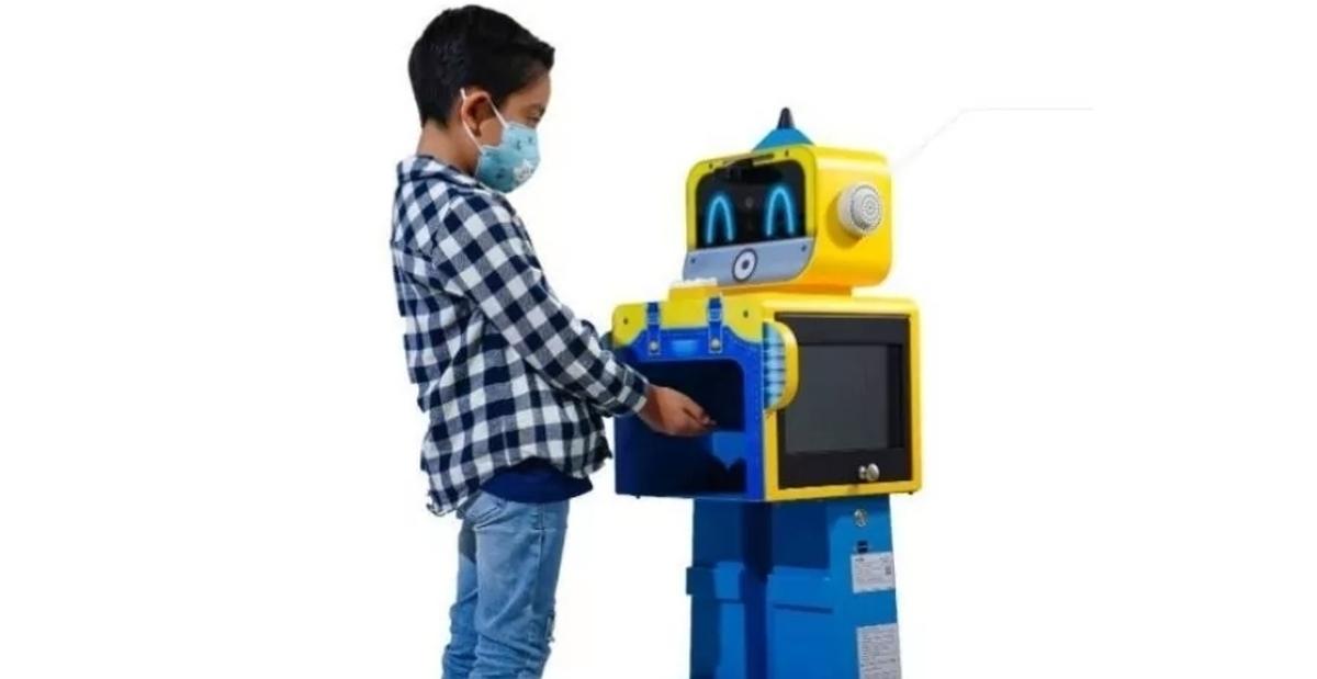 رباتی که میتواند کرونا را در کودکان شناسایی کند