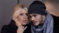 سوژه ای عجیب  در دنیای فوتبال      همسر ایکاردی این بازیکن را متهم کرد