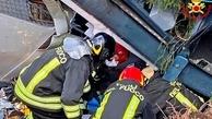 حادثه سقوط تله کابین در ایتالیا که یک ایرانی هم جزو قربانیان بود | عکس