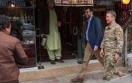 نمایش خیابانی ژنرال آمریکایی در کابل