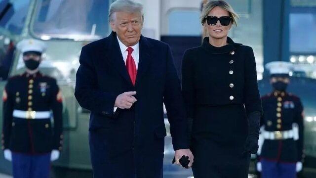 ترامپ و همسرش پیش از ترک کاخ سفید واکسن کرونا زده بودند