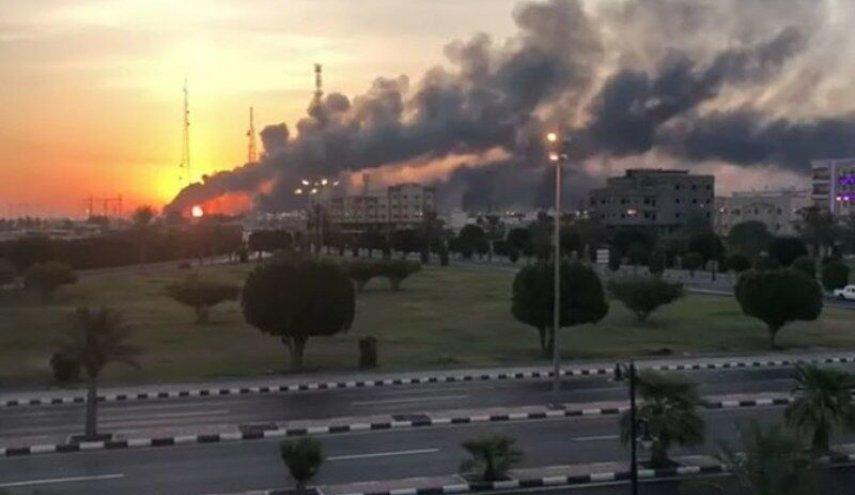 حمله به تاسیسات نفتی آرامکو سعودی در شهر ظهران ( در ساحل خلیج فارس)