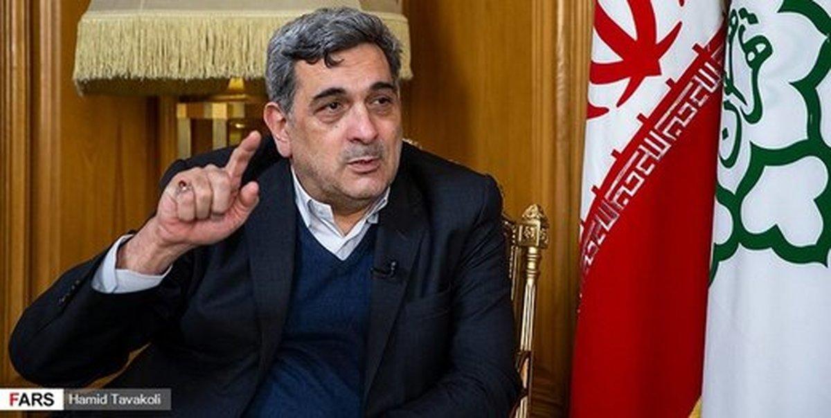 حناچی: اداره تهران روزانه به ۵۰ تا ۸۰ میلیارد تومان اعتبار نیاز دارد