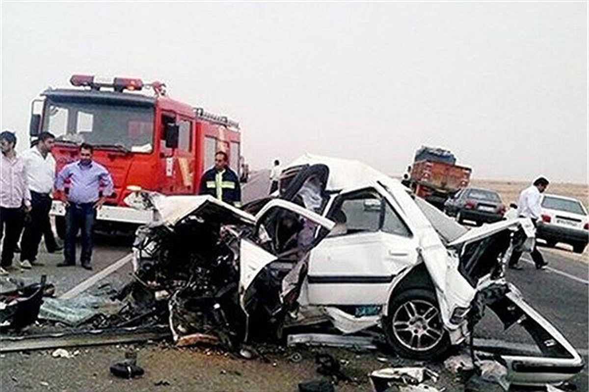 تلفات جادهای    ماهانه  ۷۰ تهرانی جان خود را براثر تصادف ازدست میدهند
