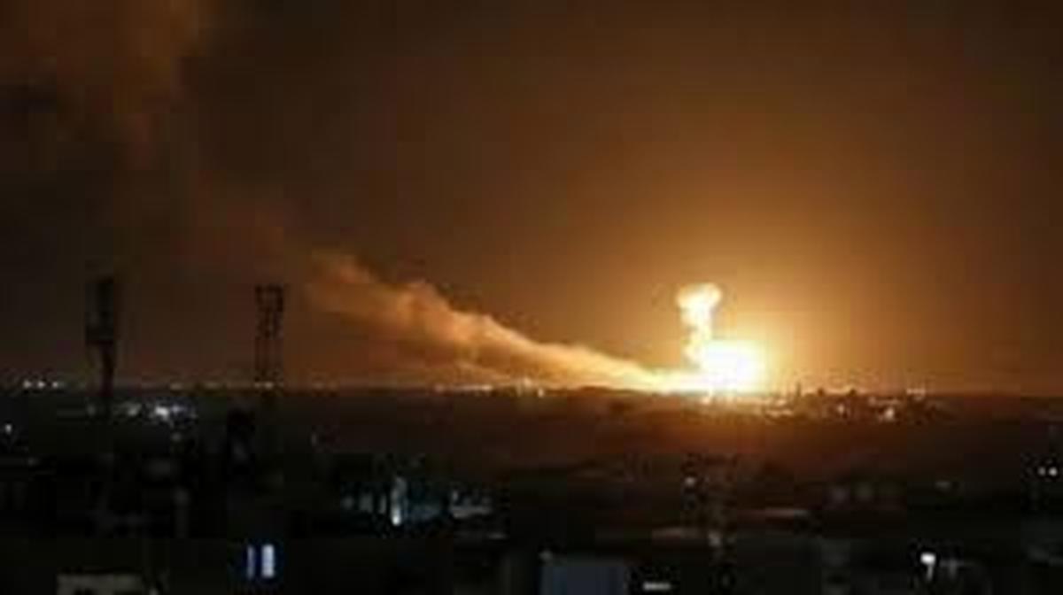 انفجار در شهر اربیل | آتشسوزی در پایگاه آمریکایی