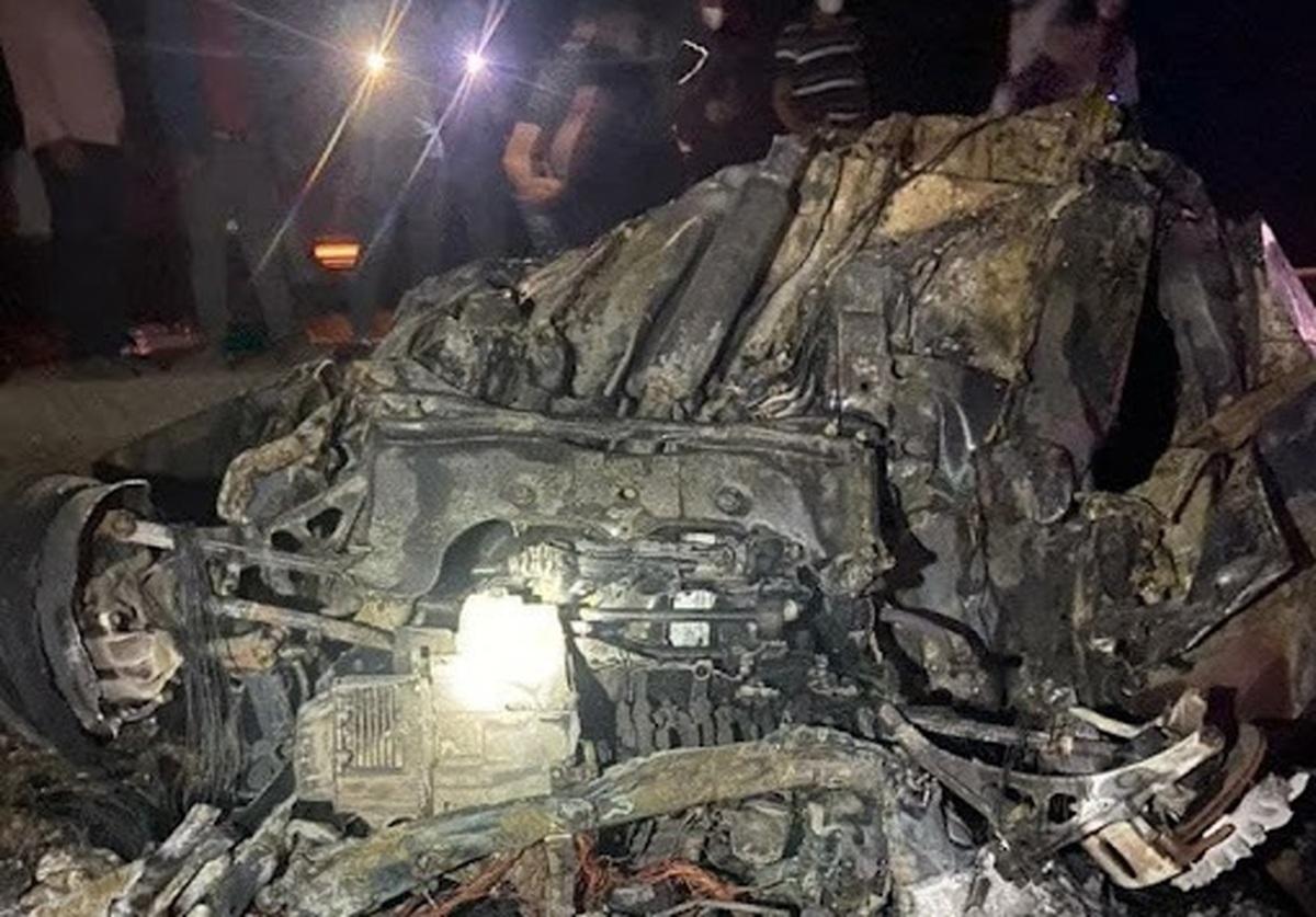 ۸ کشته در واژگونی خودرو در فارس| سرنشینان تبعه افغانستان بودند