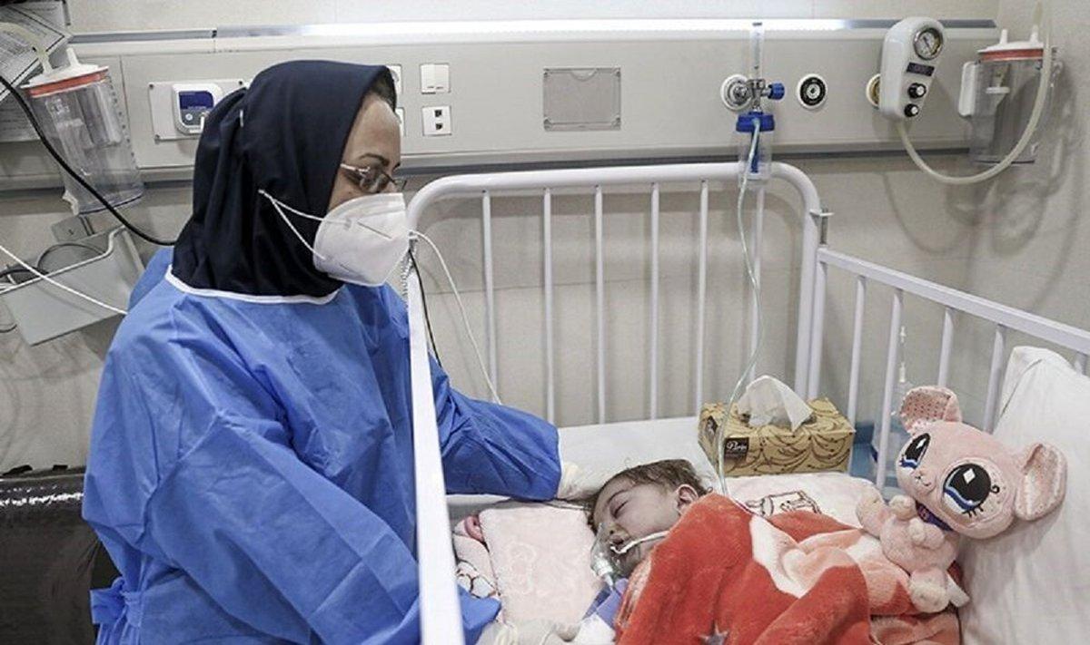 افزایش ۲ برابری مراجعه کودکان کرونایی به بیمارستانها در پیک پنجم