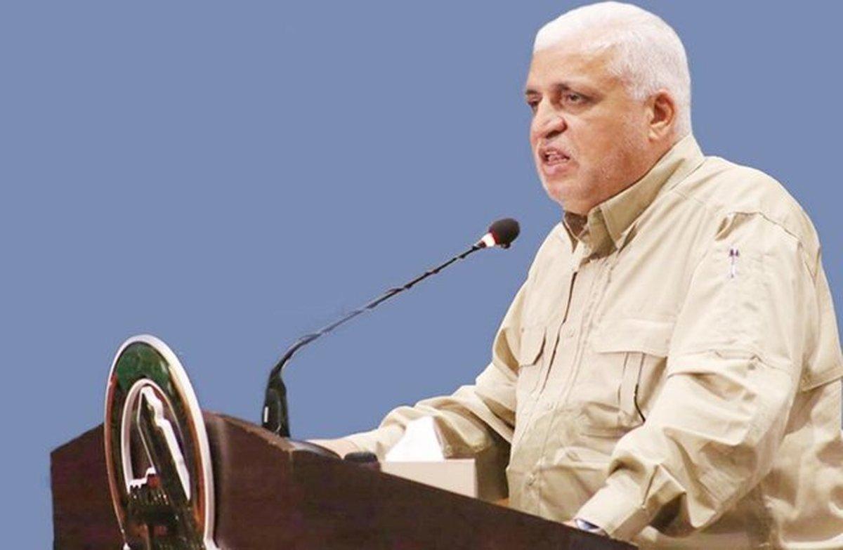 فالح الفیاض: تحریم رئیس ستاد حشد شعبی توسط آمریکا نقض حاکمیت عراق است