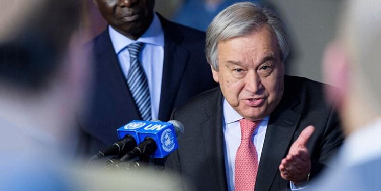 درخواست گوترش برای توقف درگیری میان ارمنستان و آذربایجان