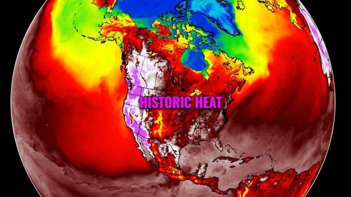گرمای بیسابقه در کانادا ۱۳۴ کشته برجای گذاشت