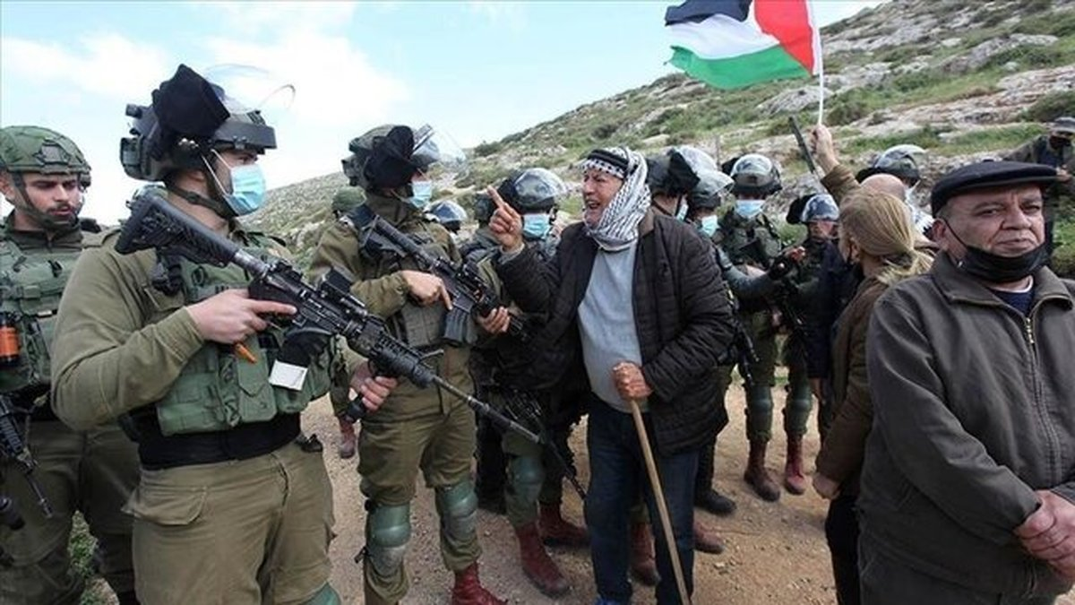 سرکوب تظاهرات ضد شهرکسازی فلسطینیان در کرانه باختری