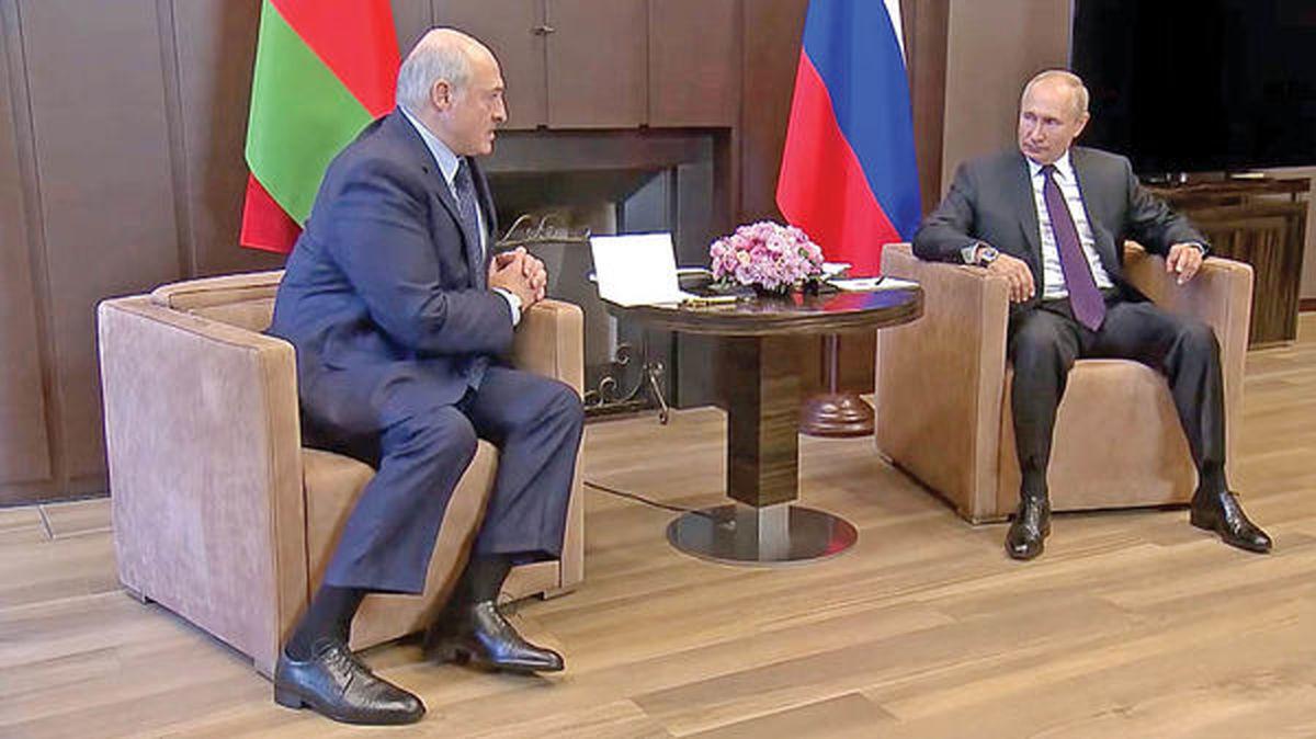توسل به برادر بزرگتر   لوکاشنکو به دیدار پوتین رفت
