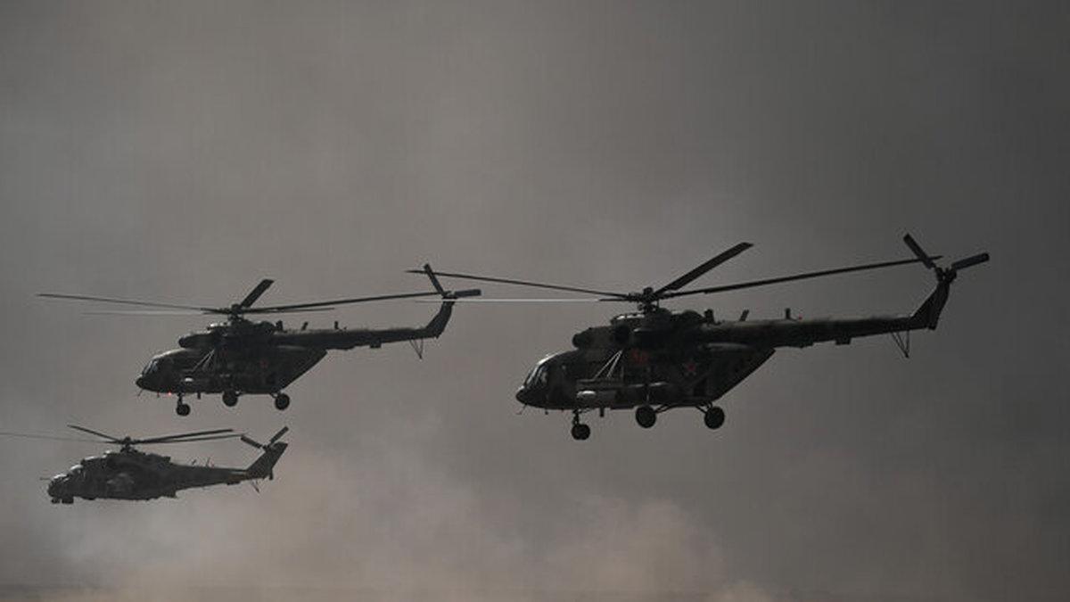 بیش از ۱۰۰ بالگرد ساخت روسیه به دست طالبان افتاده است