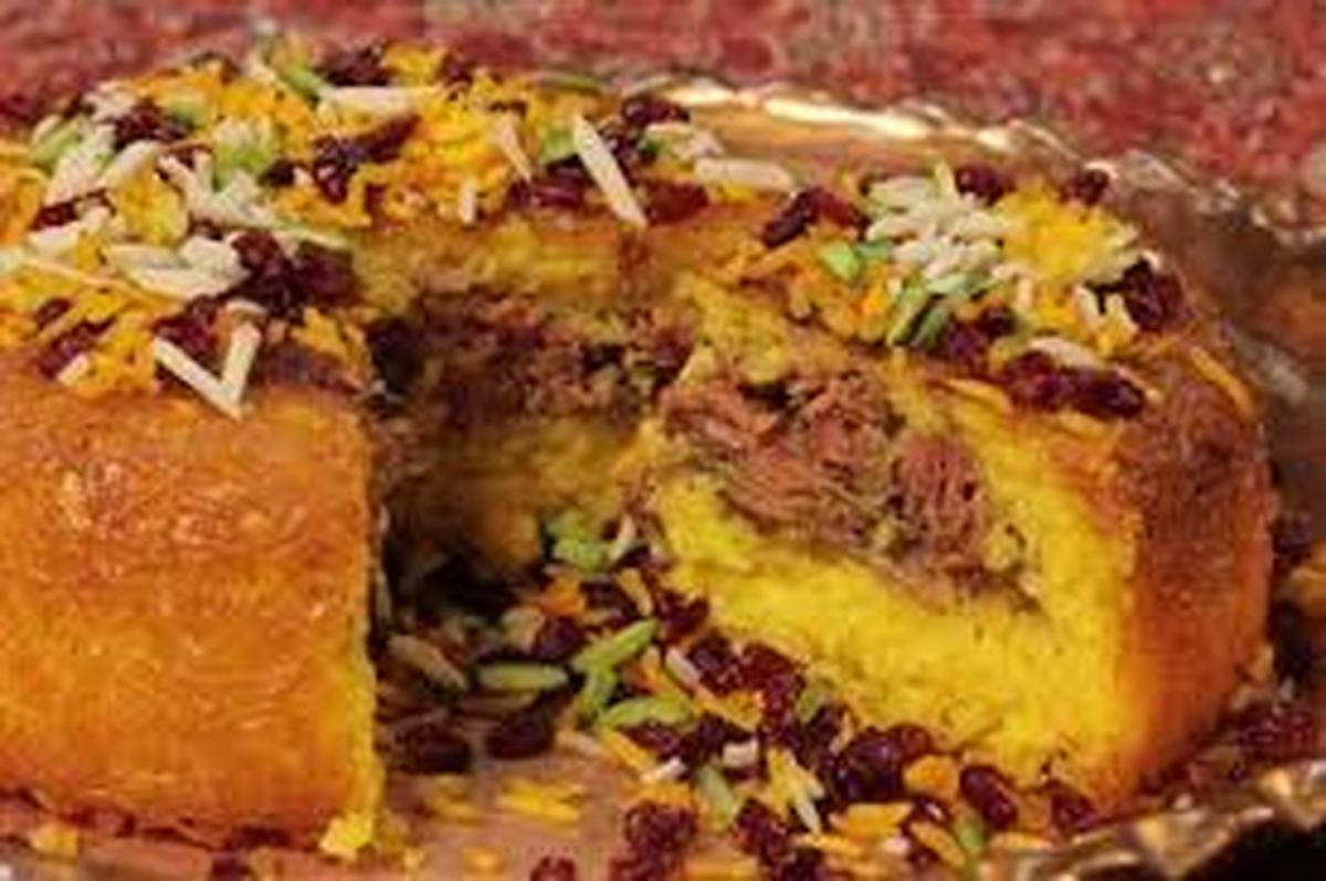 دستور پخت ته چین گوشت  متنوع ولذیذ