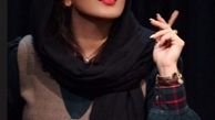لیلا بلوکات در حال سیگار کشیدن | عکس
